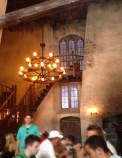Inside The Leaky Cauldron restaurant